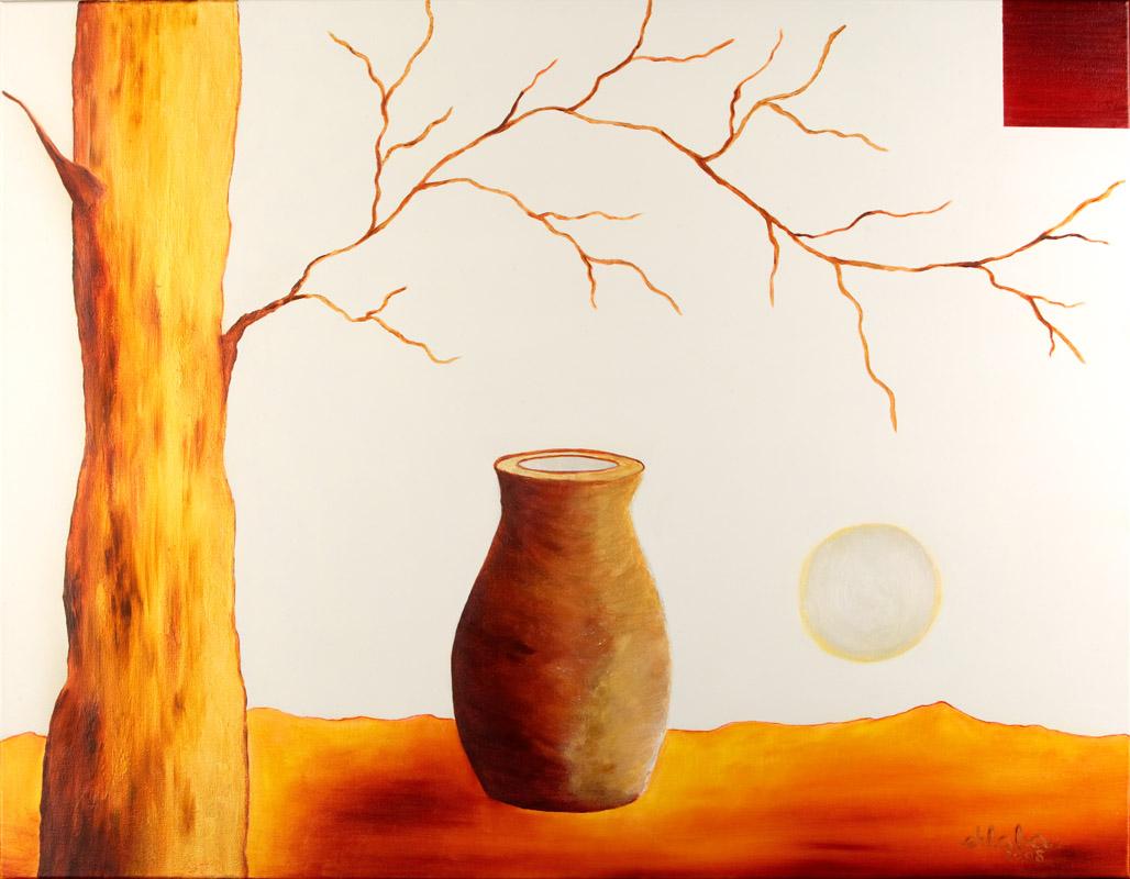 Árbol dorado 70×90