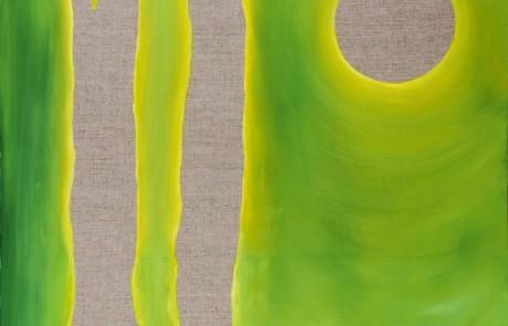 unodos cero (50 x 50 cm) Óleo sobre Lino