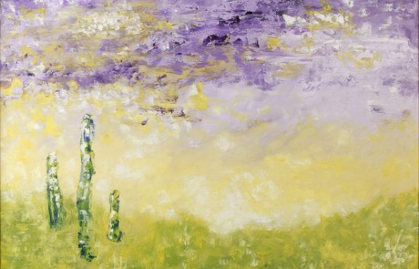 Aurora (73 x 92 cm) Óleo sobre Lienzo.