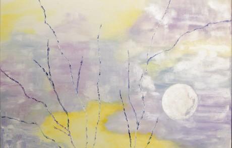Alegría (73 x 92 cm) Óleo sobre Lienzo.