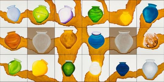 CARBALLO (30 de 50 x 50 cm) 250 x 300 cm