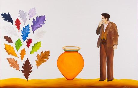 OLEIRO GABRIEL (80 x 120 cm) Óleo sobre Lienzo.