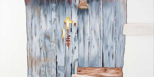 PORTA DO RIAL III (70 x 100 cm) Óleo sobre Lienzo