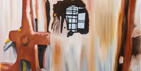 PORTA DO RIAL IV (50 x 70 cm) Óleo sobre Lienzo