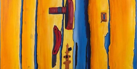 PORTA DO RIAL IX (50 x 70 cm) Óleo sobre Lienzo