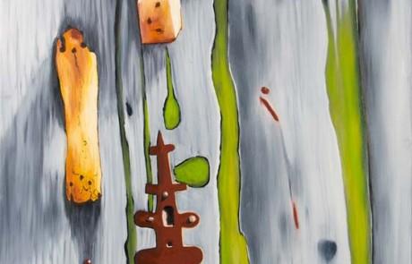 PORTA DO RIAL V (100 x 70 cm) Óleo sobre Lienzo