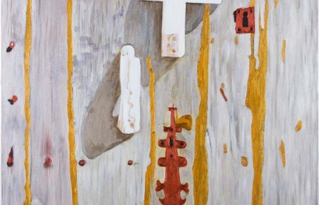 PORTA DO RIAL VI (70 x 70 cm) Óleo sobre Lienzo