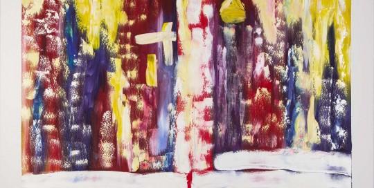 UNHA PORTA DO RIAL X (70 x 100 cm) Óleo sobre Lienzo