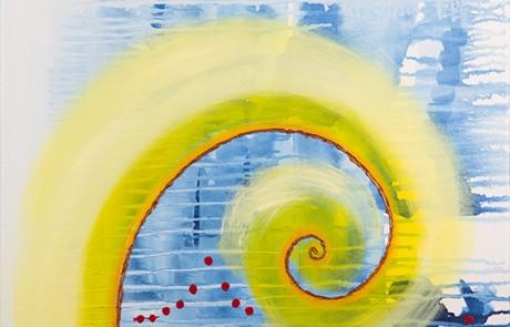 SON MAR 5 (50 x 50 cm) Óleo sobre Lienzo