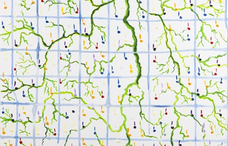 SON MAR 7 (50 x 50 cm) Óleo sobre Lienzo