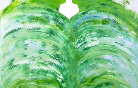 CONÓCETE A TI MISMX III (70 x 70 cm) Óleo sobre Lienzo