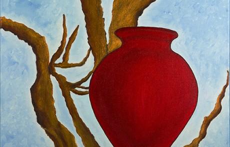 OLA 1 (50 x 50 cm) Óleo sobre Lienzo