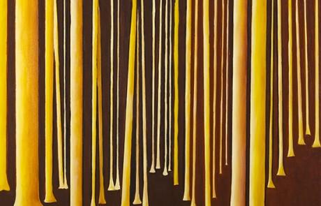 SIGO PLANTANDO ÁRBOLES I (70 x 70 cm) Óleo sobre Lienzo
