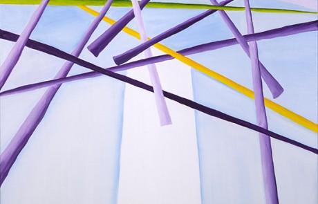SIGO PLANTANDO ÁRBOLES II (70 x 70 cm) Óleo sobre Lienzo