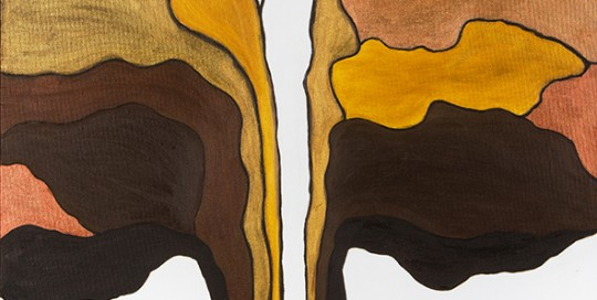 ÁRBOL MARIPOSA 1 (50 x 50 cm) Óleo sobre Lienzo