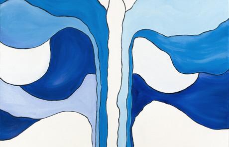 ÁRBOL MARIPOSA 2 (50 x 50 cm) Óleo sobre Lienzo
